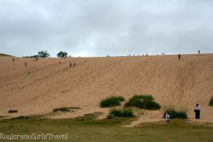 Middle view of Dune Climb