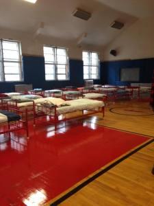Completed Shelter Rotation Set-up