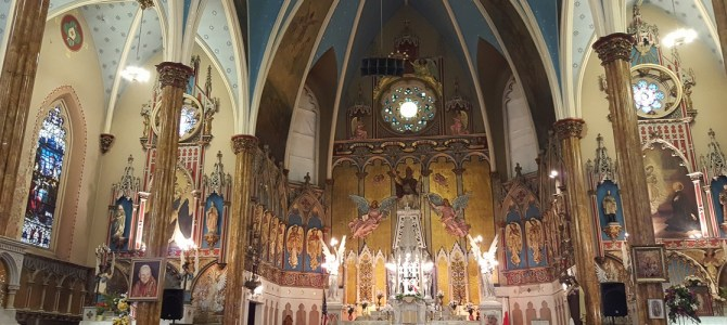 Exploring Polish Churches in Detroit