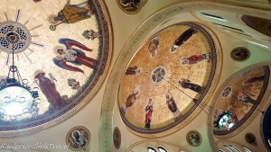 Artwork on the ceiling of St. Hyacinth