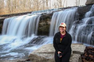 Kayla at Upper Cataract Falls