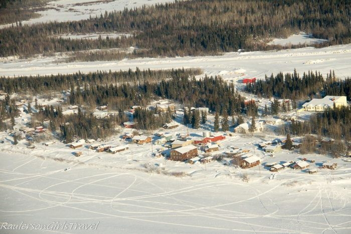 Aerial View of Beaver Village