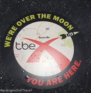 sign for TBEX Huntsville