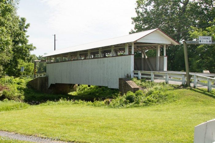 Snooks Covered Bridge in Bedford County