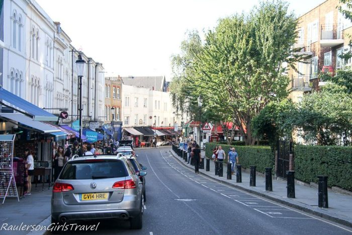 Notting Hill in England