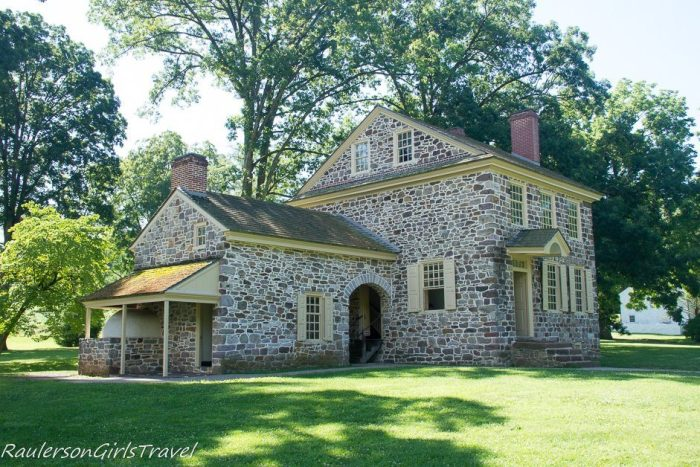 Kitchen view of Washingtonton's Headquarters at Valley Forge
