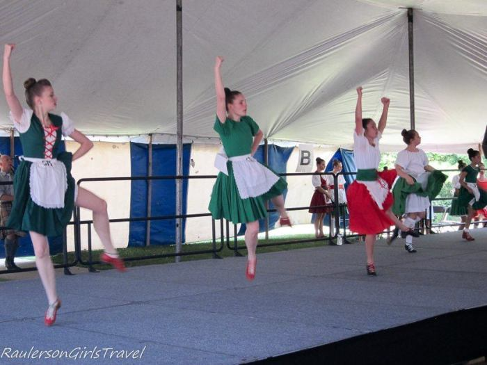 Highland Dancing at the Highland Games