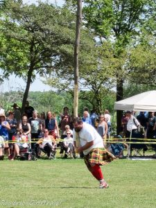 Carrying the Cabor at the Highland Games