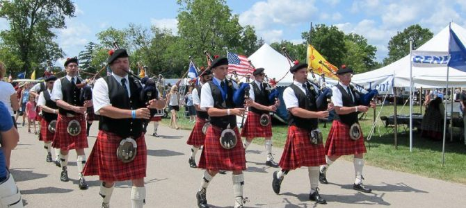 Welcome to the Annual Highland Games
