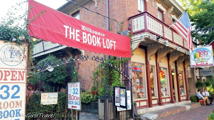 The Book Loft in German Village, Columbus, Ohio
