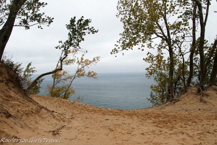 Sleeping Bear Dunes and Lake Michigan