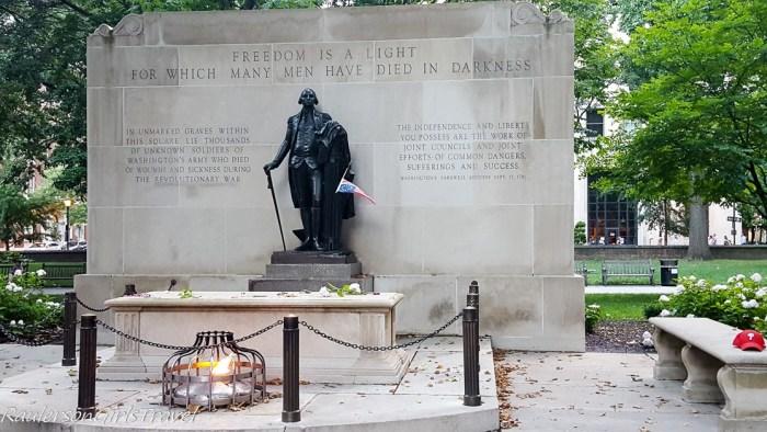 Washington Square in Philadelphia - Ghost Tours around the world