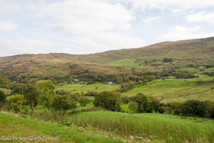 Irish Countryside in Sheen Valley