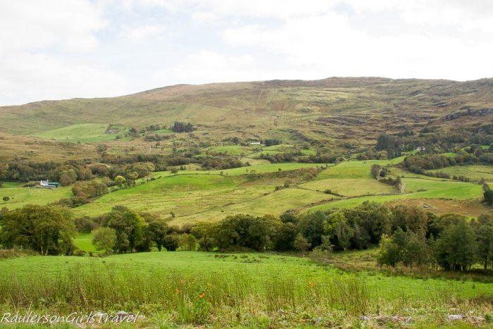 Irish Countryside in Sheen Valley on Caha Pass