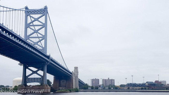 Ben Franklin Bridge - spend a fun afternoon in camden nj