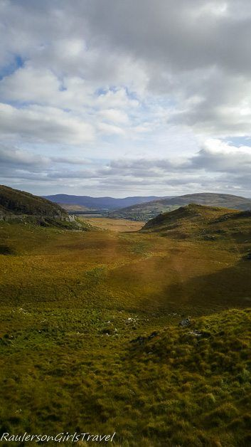 A valley in the Ring Kerry, Ireland