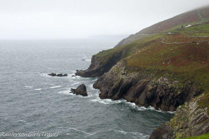 Cliffs along Slea Head Drive Ireland