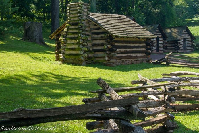 Log Cabins at Valley Forge