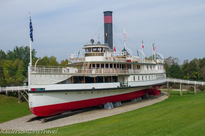 Steamboat Ticonderoga at Shelburne Museum
