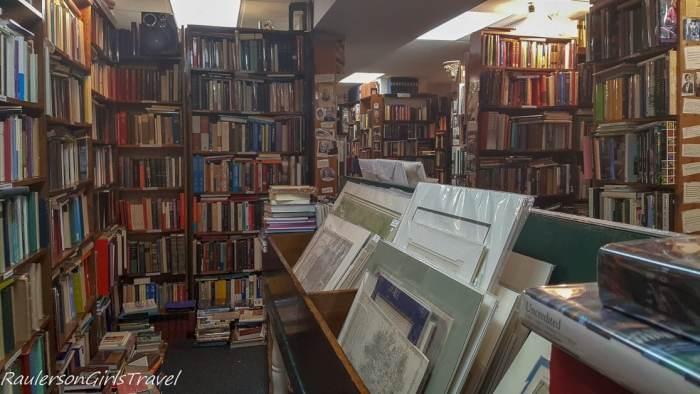 Inside Commonwealth Books in Boston, Massachusetts