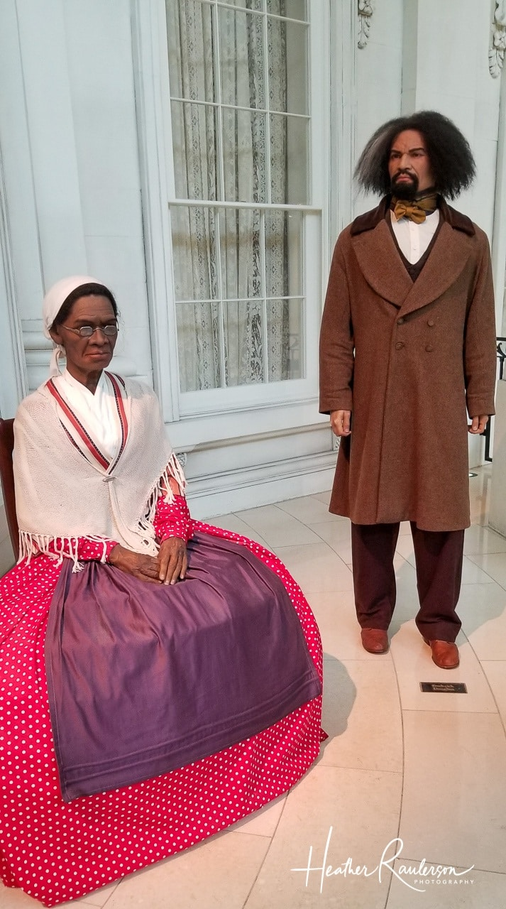 Sojourner Truth and Fredrick Douglass