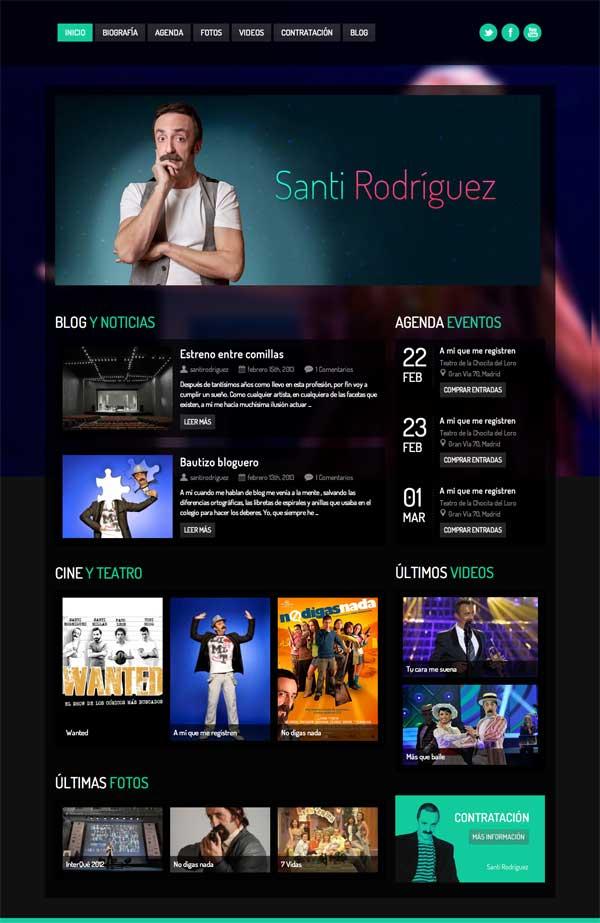 Santi Rodríguez - Web Oficial