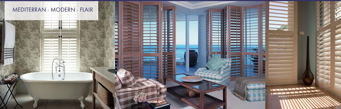 Shutter, Fensterläden aus Holz