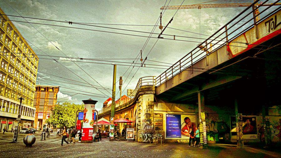 tram cables Berlin