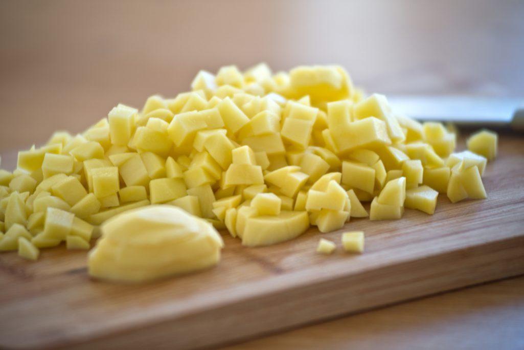 Suppe, Gurkensuppe, Kartoffeln,