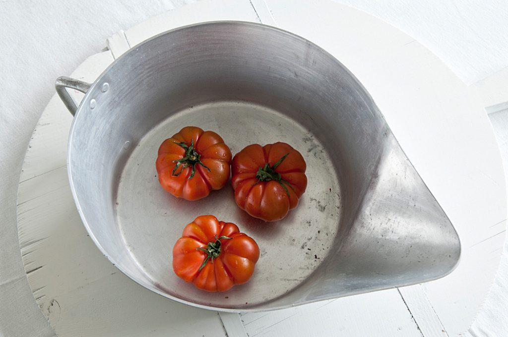 Tomaten am Morgen, am Mittag, am Abend