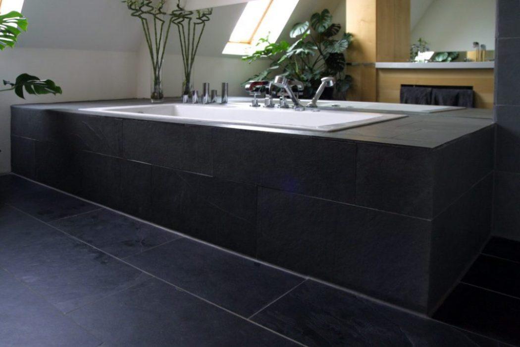 zum schönen wohnen gehört ein großes Bad