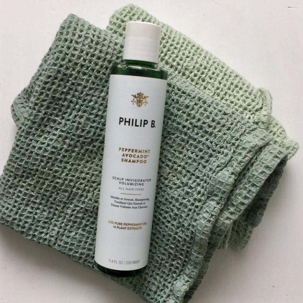 peppermint shampoo für die haare