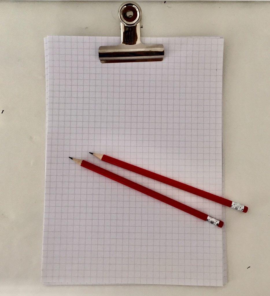 Wunschzettel schreiben. Für wen? Dreimal dürft ihr raten?
