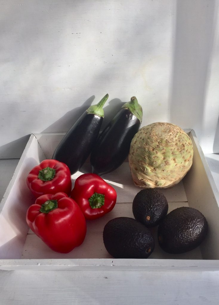 low carb geht gut mit viel Gemüse