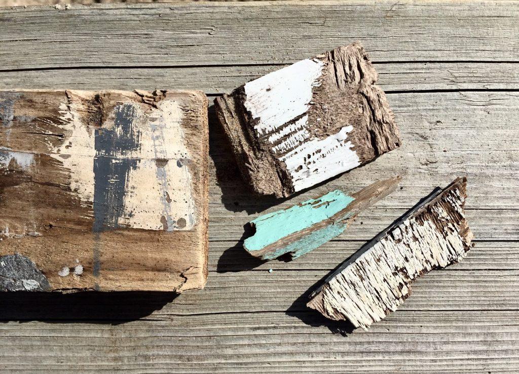 Nagellack zu Flohmarkt passend geht das? Ja, wenn man sich vom Strandholz inspirieren lässt.
