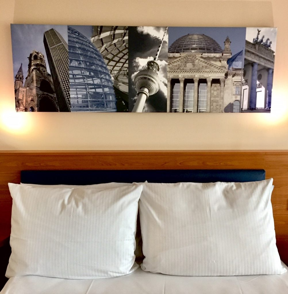 Berlin. Ein tolles Hotel. Hamptons Inn