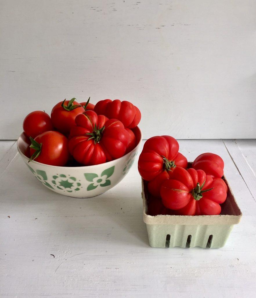 Tomaten verglasen ist ein feine Idee