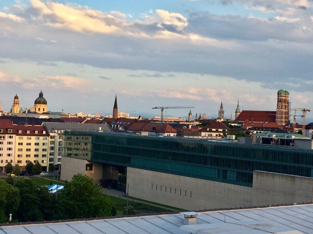 Es sit kein Urlaub in München ohne dieses Panorama
