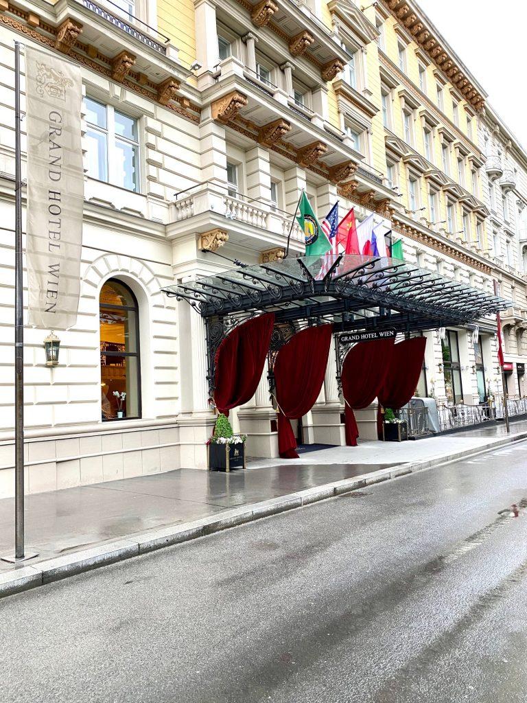 Grand Hotel Wien. Wenn wohnen, dann dort.