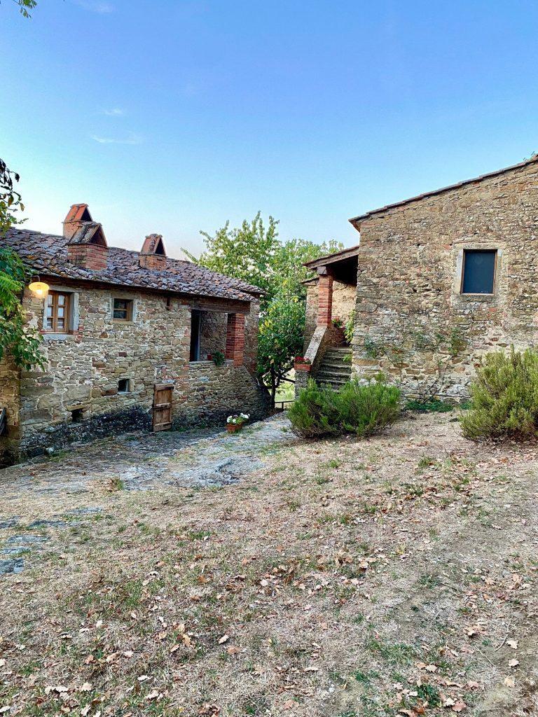 Gott lebt in einem Haus in der Fattoria la Vialla