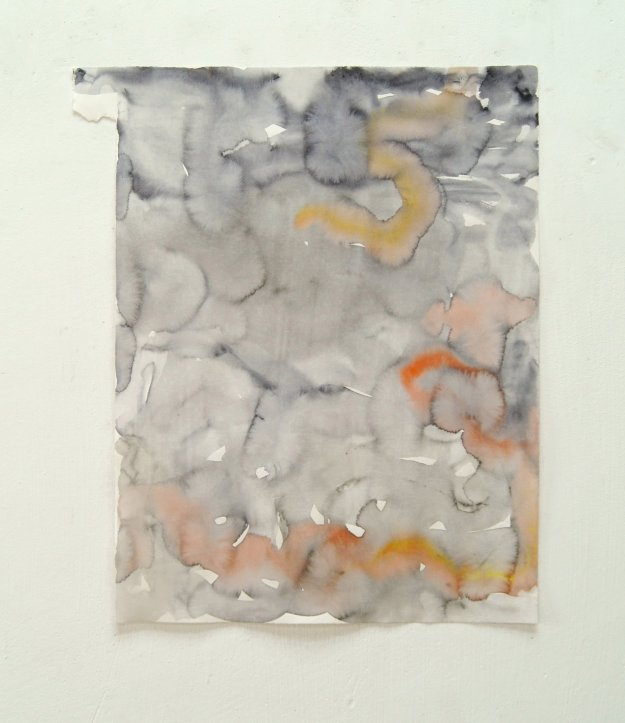 4 U. Wellmann 2014 Watercolour  58,6 x 49,2 cm
