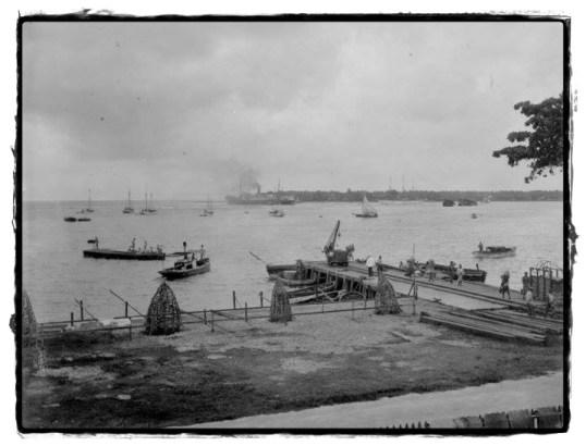 Bucht von Apia 1914