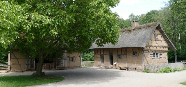 Haus aus Scheuerheck