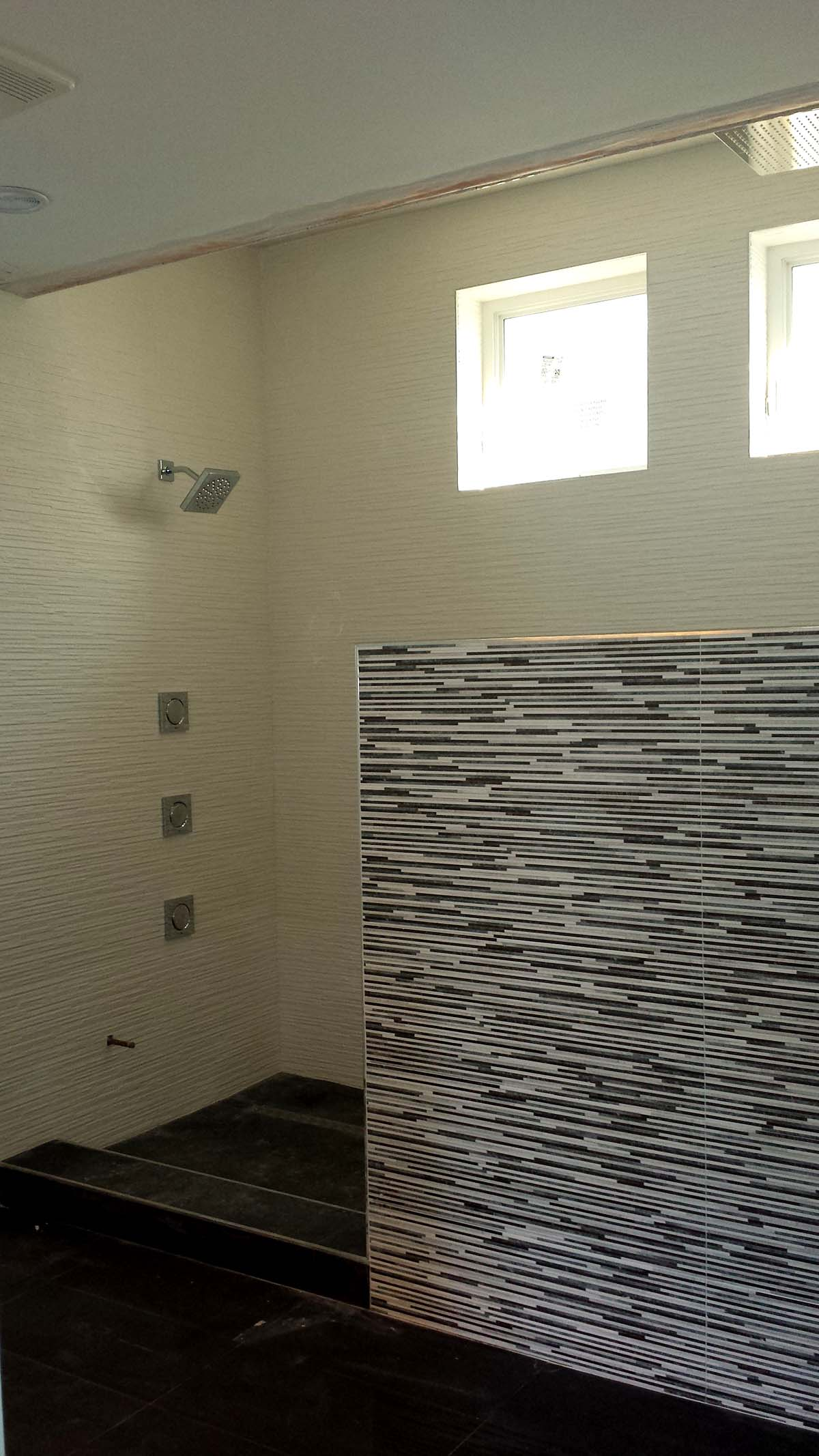 Double Walk In Shower In Pinecrest Miami General Contractor