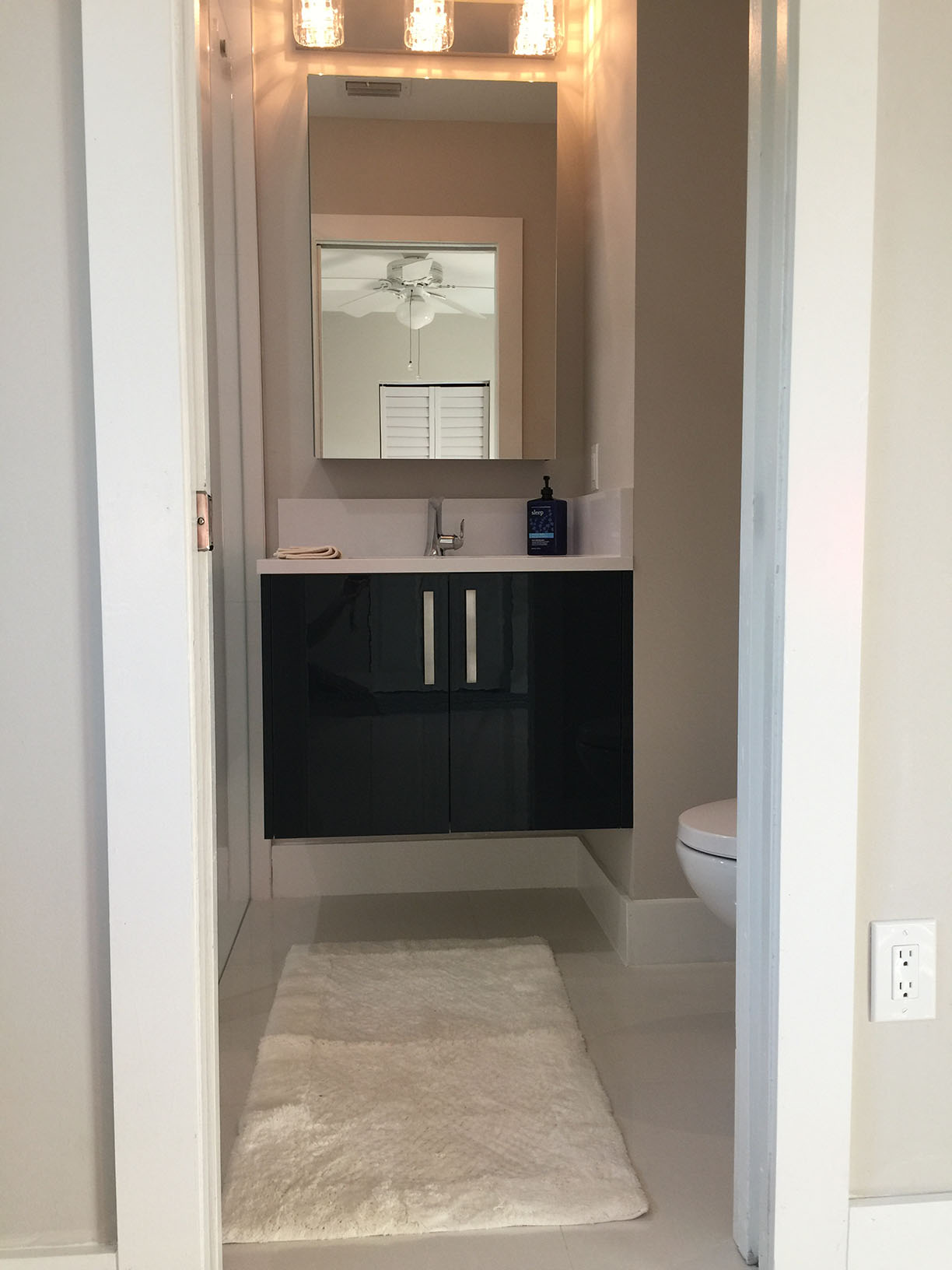 Small Bathroom Remodel In Palmetto Bay Miami General