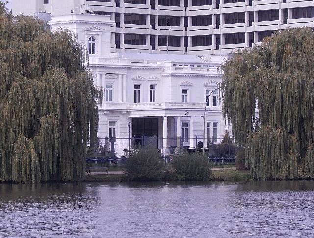 Das amerikanische Konsulat in Hamburg