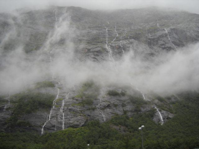 Trollveggen in Norwegen Andalsnes