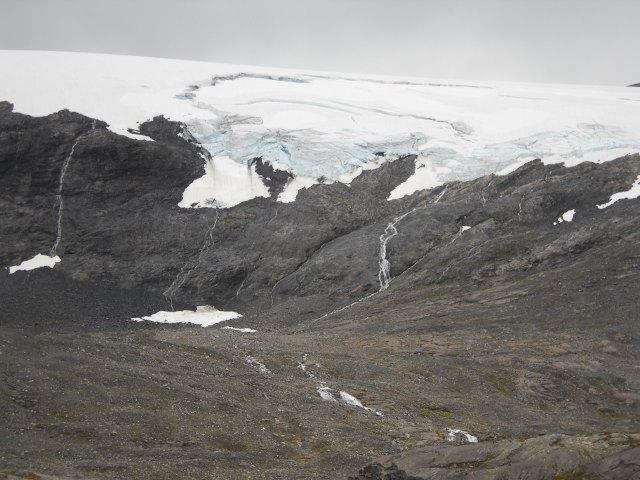 Gletscher Blick vom Dalsnibba