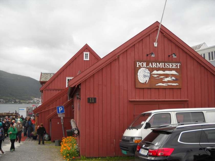 Das Polarmuseum in Tromsö Aussenansicht