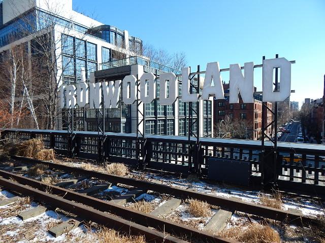 Ironwoodland Kunstwerk Highline New York